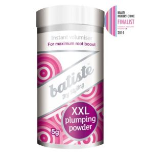 Batiste XXL Plumping Powder: for unsurpassed flexible volume and hold at the roots