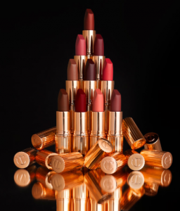Charlotte's Matte Revolution lippies: highly pigmented, velvety smooth, long-wearing and with a glowing, lit-from-within finish to make lips look fuller. Flat, lifeless matte lips are a thing of the past with this new est addition to the Charlotte Tilbury line!