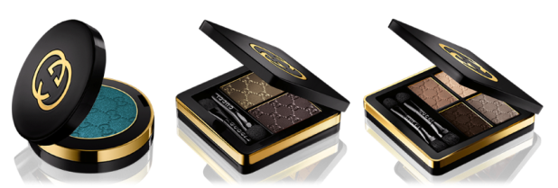 Gucci Magnetic Color Eyeshadows in Quads, Duos & Monos: buttery soft, good colour pay-off, long-lasting and blend out a treat!