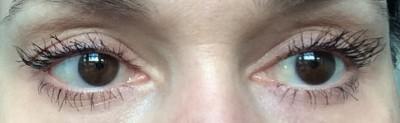Gucci Opulent Volume Mascara: two coats on both eyes